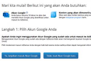 Cara Daftar Dan Tips-Trik Agar Diterima Google Adsense