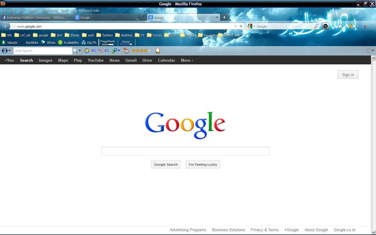 Cara Cepat Setting Google.co.id Ke Google.com