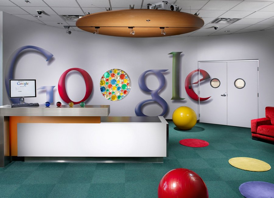 interior kantor google