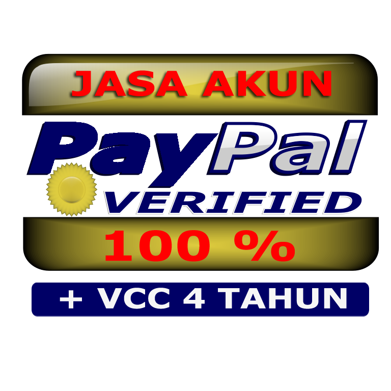 JASA AKUN PAYPAL VERIFIED + VCC 4 TAHUN