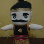 Boneka Wayang Gatot kaca