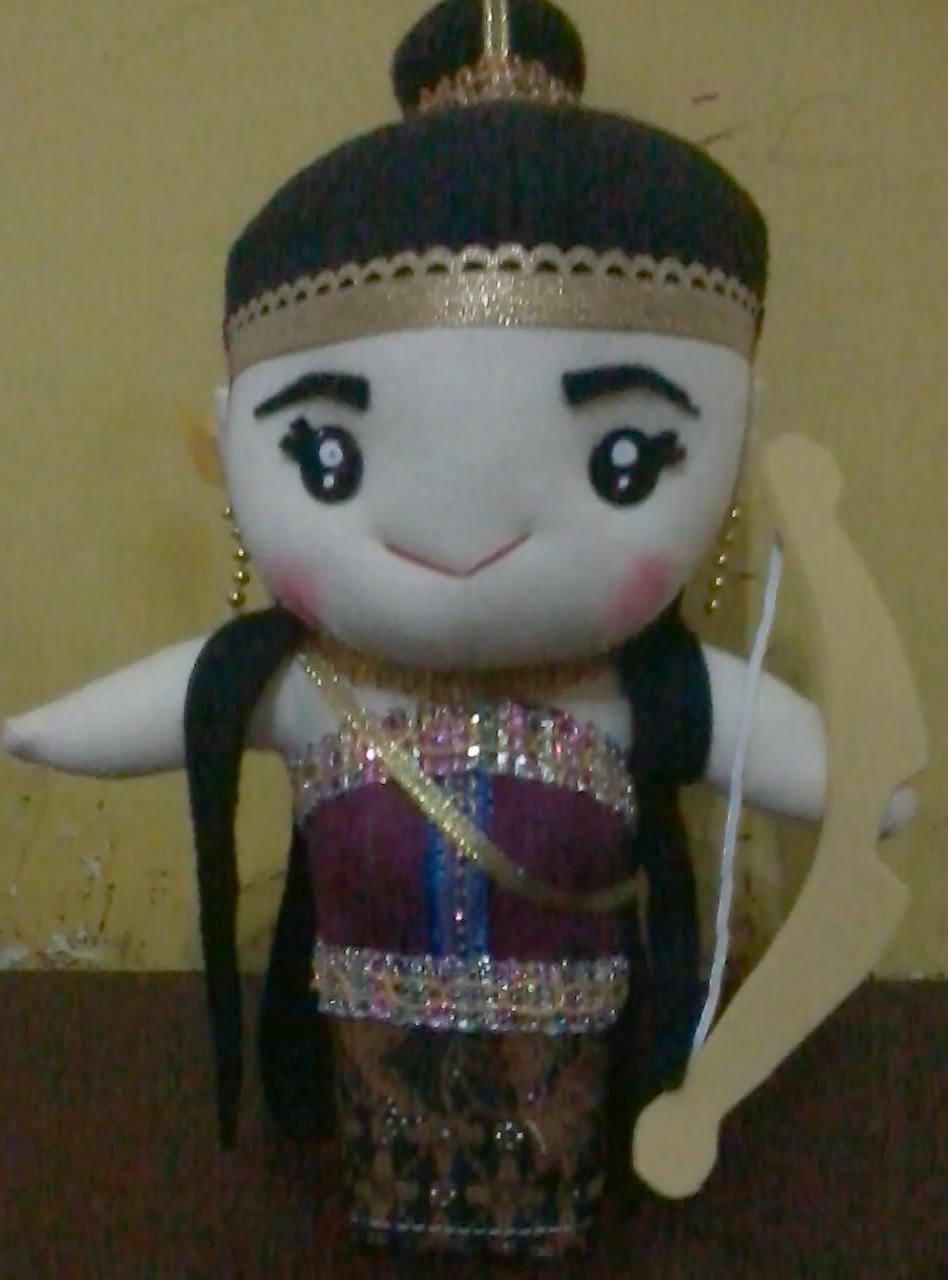 Boneka Wayang Srikandi