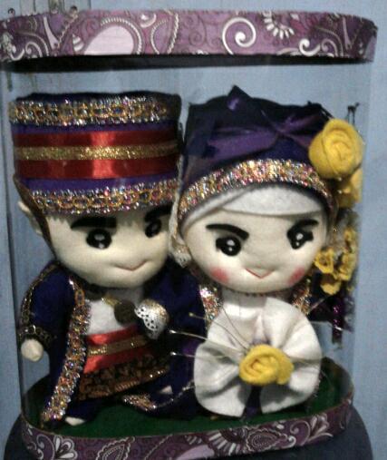 boneka pasangan pernikahan_medan