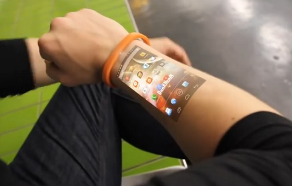 Gelang Teknologi Cicret Bracelet