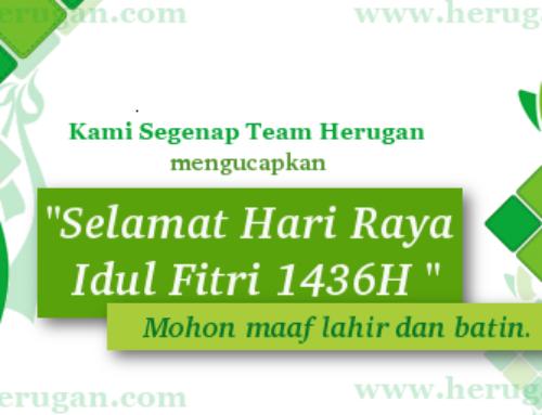 Selamat Hari Raya Idul Fitri 1436 H, Mohon Maaf Lahir Batin